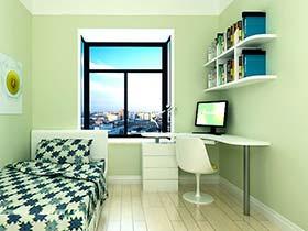 春之绿的惬意   11个书房装修装饰图片