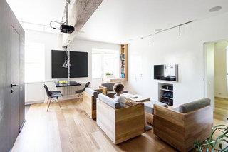 58平米房子简约客厅装修效果图