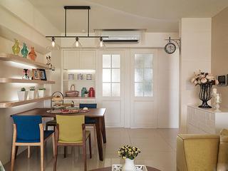 欧式风格简洁餐厅吊顶装修效果图