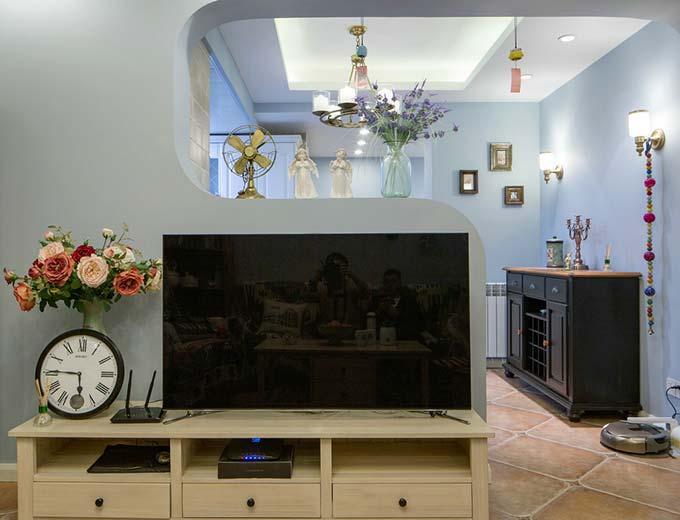 电视背景墙效果图