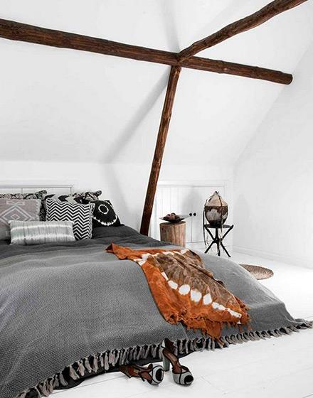 92平两居室阁楼卧室装潢