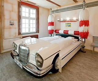 造型床装修装饰图片