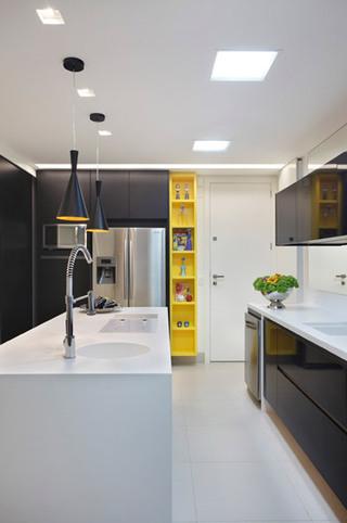 简约风格时尚别墅厨房装修效果图