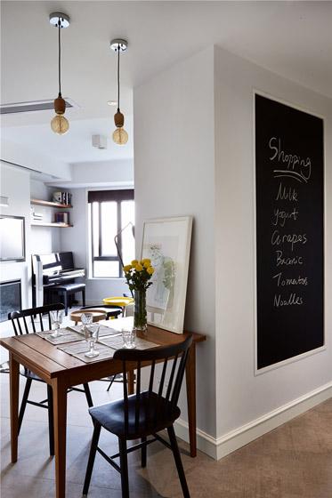 北欧风格小户型餐厅吊顶装修效果图
