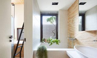 宜家风迷你小公寓卫生间装修设计