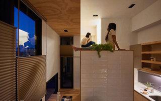 30平米错层迷你小屋吊顶装修效果图