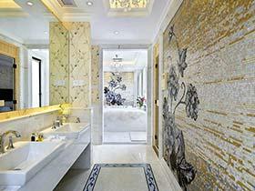 大风格大居室   350平米欧式别墅实景设计图