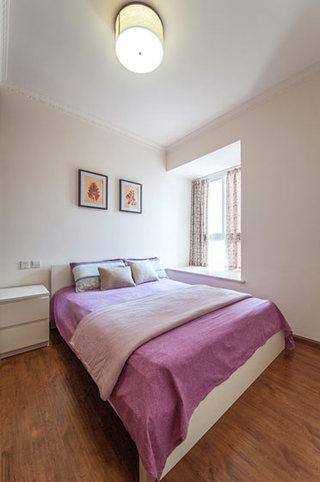 简洁美式次卧室效果图