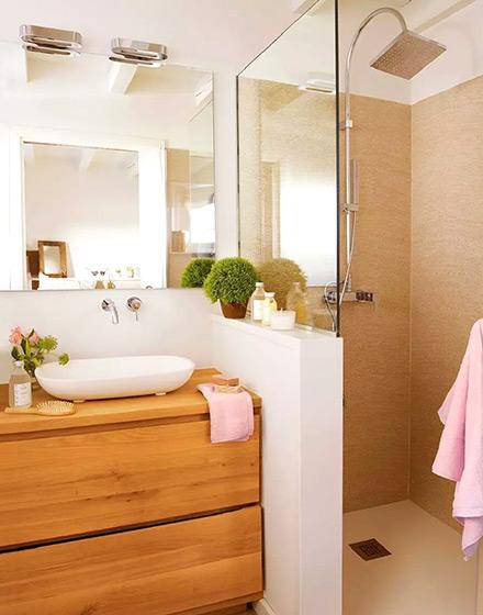 89平两居室卫生间装潢图