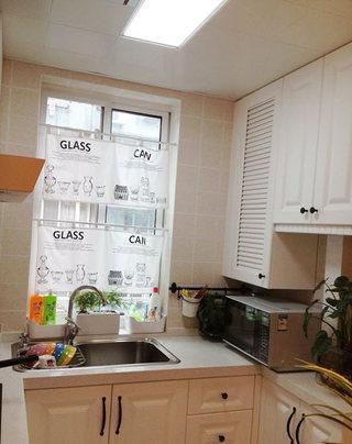 小户型开放式厨房装修效果图
