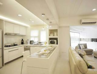 整体厨房实景图