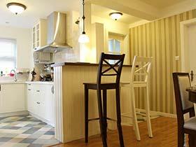 煮妇新宠   10个厨房吧台设计装修图片