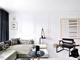 90平北欧风美家  干净靓丽的空间让人喜欢