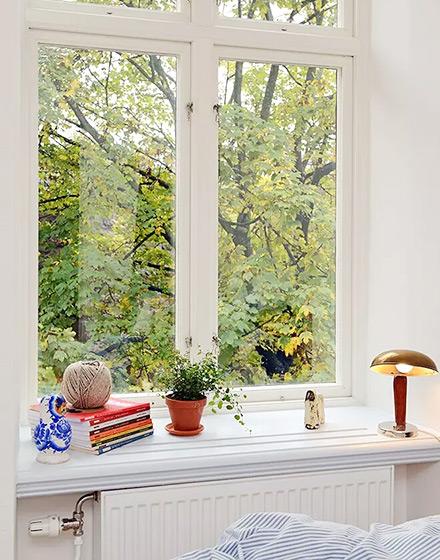 36平北欧一居卧室窗户图片图片