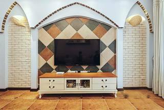 电视背景墙设计图
