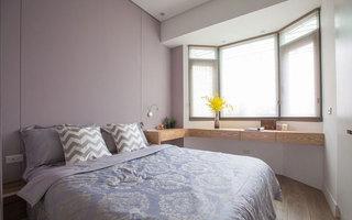 简约风格浪漫紫色主卧室装修效果图