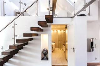 60平阁楼公寓楼梯效果图