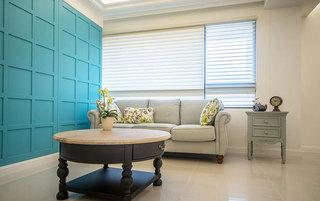 简约风格灰色布艺沙发图片