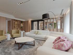 高颜值简约装修 220平大户型豪宅案例