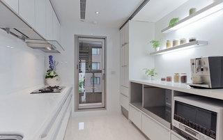 简约风格白色干净厨房装修效果图