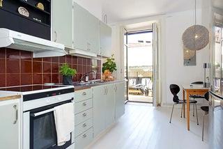 90平米二居室厨房装潢图片