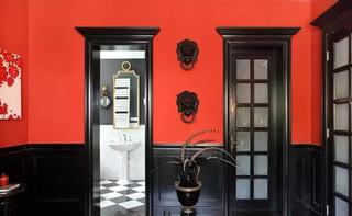 210平别墅卫生间走廊设计装修