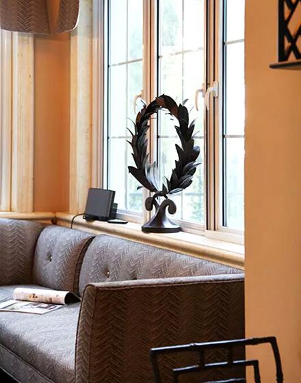 210平别墅阳光房沙发图