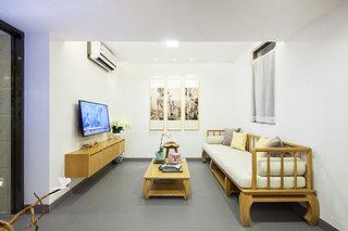 简约中式超小户型客厅装修效果图