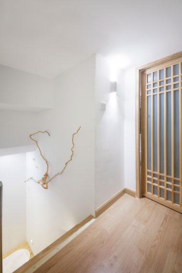 中式风格超小户型楼梯走廊装修