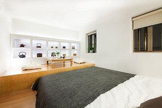 中式风格超小户型卧室榻榻米装修效果图
