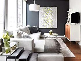 11个完美小户型客厅装修图 轻松玩转10㎡