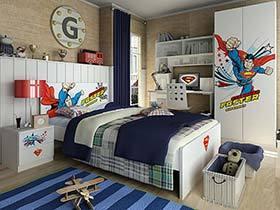 成长中个性变化  10款儿童房装修装饰效果图