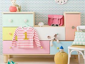11个色彩缤纷收纳柜 打造完美儿童房装修