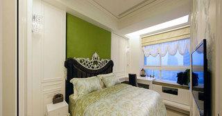 新古典绿色豪华卧室装修效果图
