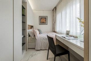 简约风格带书房卧室装修效果图