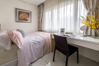 简约风格浅粉色卧室装修效果图