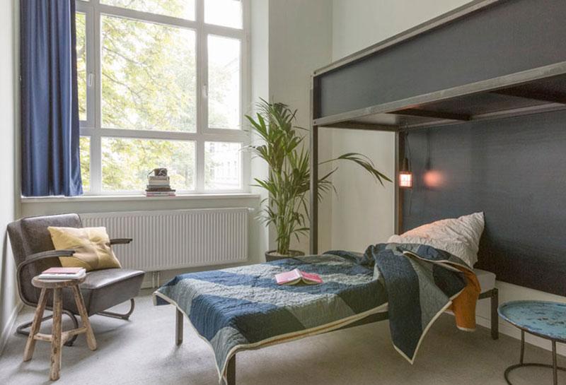 现代简约学生宿舍多功能卧室装修效果图