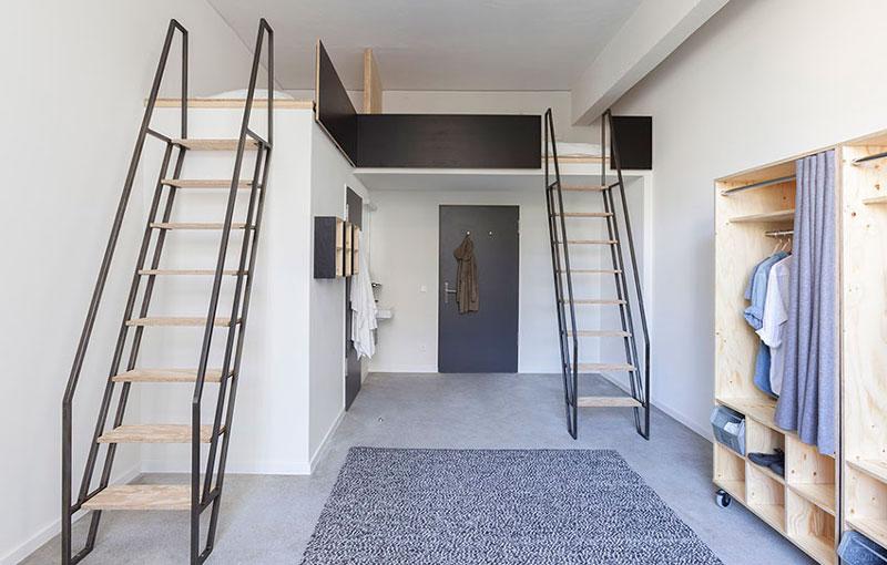 现代简约学生宿舍个性实用卧室装修