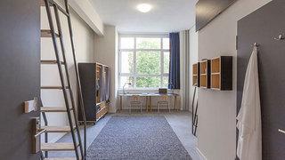 现代简约学生宿舍小书房装修效果图