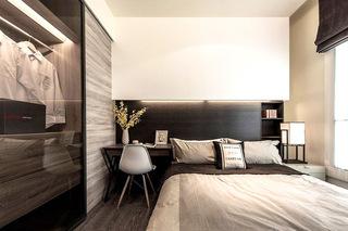 149平简约三居室卧室装潢设计图