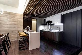 149平简约三居室吧台装修设计