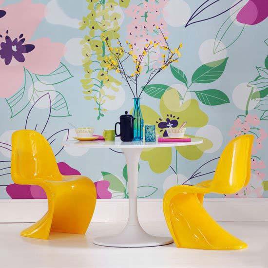 彩色餐厅装饰装修效果图