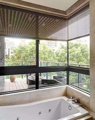 165平简约三居室浴缸装修图片