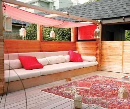 木质庭院家具设计图