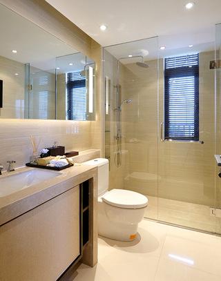 254平新中式别墅卫生间装修设计图