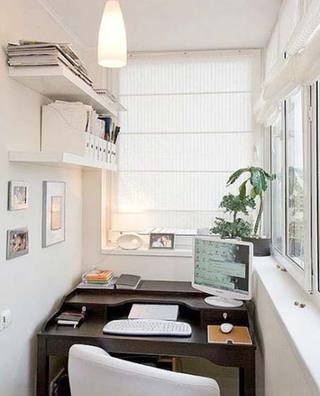阳台书房户型图