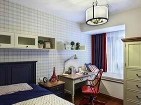 80后美式小资生活  120平公寓装修样板房图片