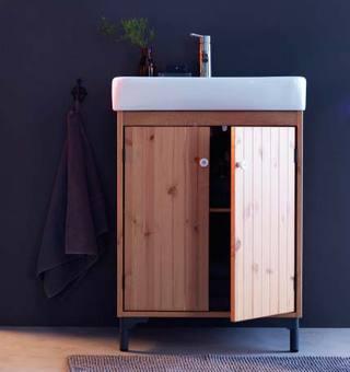 新款浴室柜设计实景图片