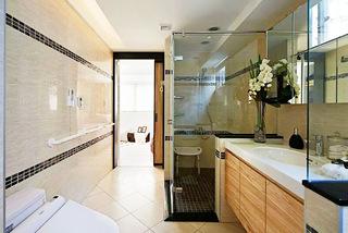 115平两居室卫生间浴室柜图片