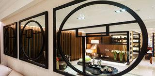 典雅东南亚风情 镜面装饰设计